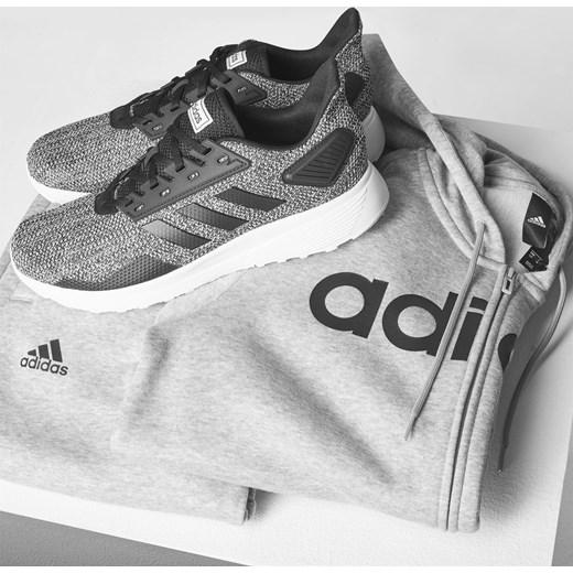 Buty sportowe męskie szare Adidas duramo