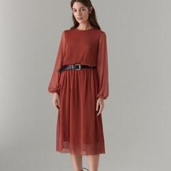 0b067ffb88 Sukienka Mohito midi z długimi rękawami