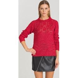 3b45988fc389a Sweter damski Guess z okrągłym dekoltem