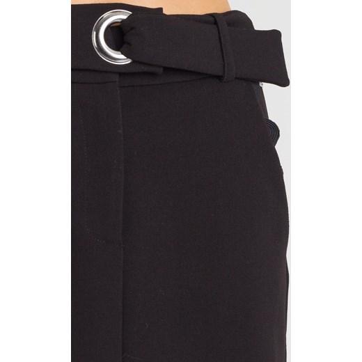 Spódnica czarna Armani mini bez wzorów Odzież Damska OP czarny Spódnice YLIT 60% ZNIŻKI