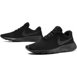 70717a3f1cde3 Buty sportowe damskie Nike tanjun płaskie bez wzorów sznurowane