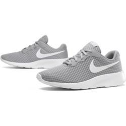 b435308804061 Szare buty sportowe damskie Nike tanjun płaskie na wiosnę