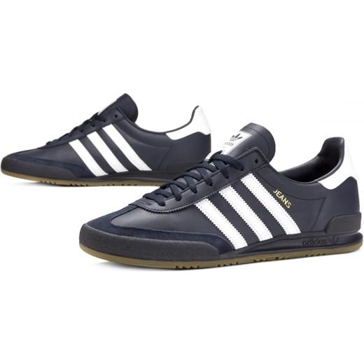 70% ZNIŻKI Adidas buty sportowe męskie ze skóry sznurowane