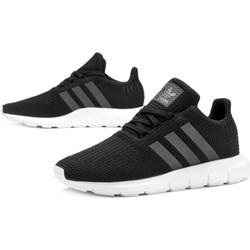 3e1f983256b7 Buty sportowe dziecięce Adidas bez wzorów sznurowane na wiosnę