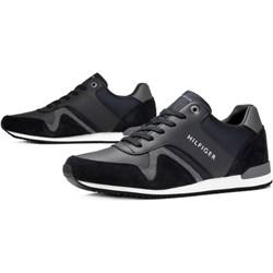 44588a8b2ea37 Granatowe buty sportowe męskie tommy hilfiger, lato 2019 w Domodi