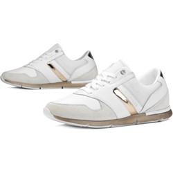 fbb435b923292 Buty sportowe damskie Tommy Hilfiger sneakersy młodzieżowe wiązane