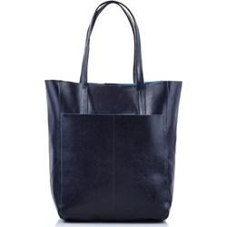 844f619188c7f Shopper bag matowa skórzana