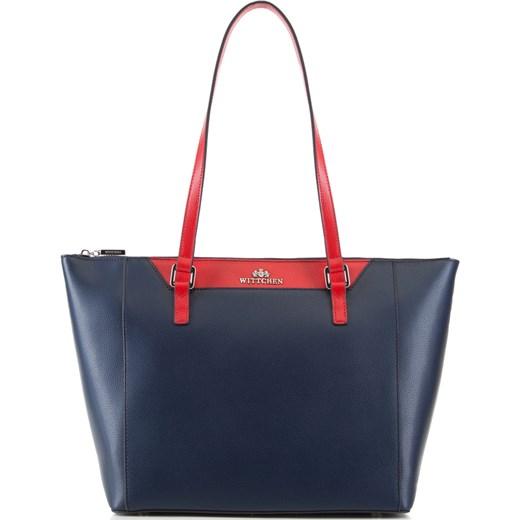 c0e72e46e2ae0 Shopper bag Wittchen elegancka skórzana bez dodatków na ramię w Domodi