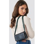 3982fbfb1aab4 NA-KD Accessories Pop Chain Cross Body Bag - Black - zdjęcie produktu