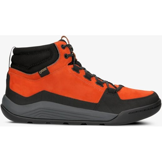Buty sportowe męskie Clarks pomarańczowe wiązane wiosenne