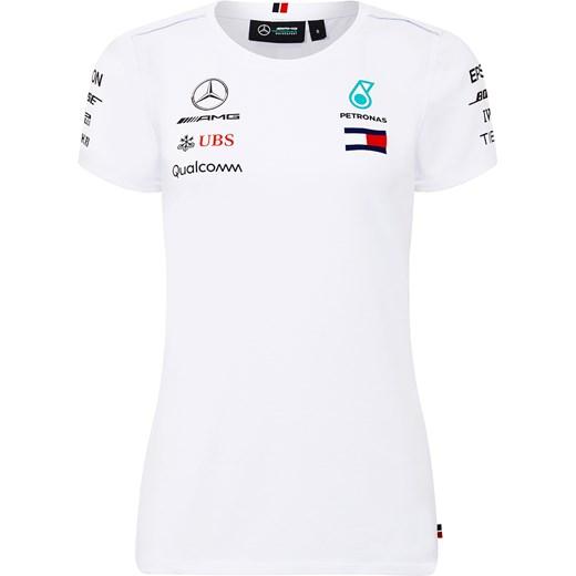 wylot T shirt Mercedes Amg Petronas F1 Team z bawełny z