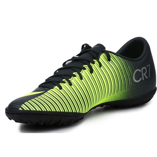 piękny Buty sportowe męskie Nike mercurial zielone na wiosnę