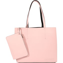 073ba593eb94e Shopper bag Calvin Klein skórzana różowa mieszcząca a6