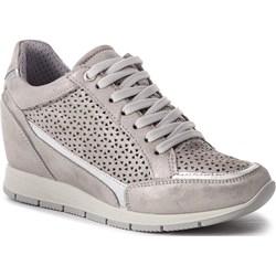 f5c5a2cc38 Sneakersy damskie Imac casualowe skórzane bez wzorów na ...