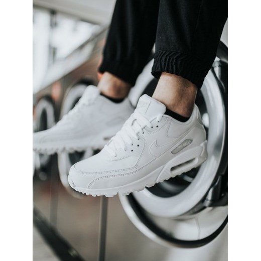 Nike buty sportowe męskie air max 91 ze skóry