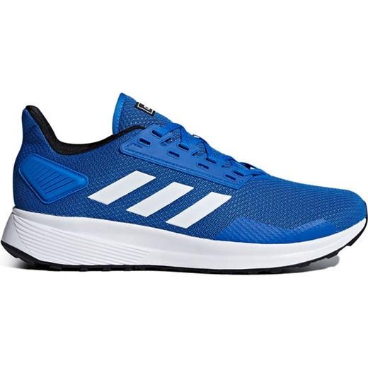 Buty sportowe męskie Adidas duramo niebieskie na wiosnę