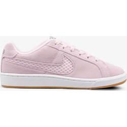 adfd723f Trampki damskie Nike court płaskie sznurowane bez wzorów