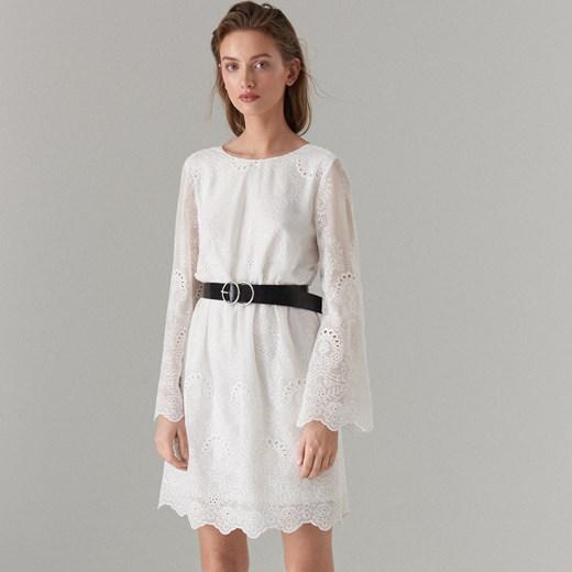 cb3748aec3 Sukienka Mohito z długimi rękawami z okrągłym dekoltem casualowa w ...