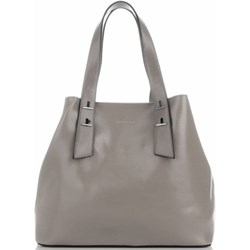 0397234665898 Shopper bag Silvia Rosa matowa duża bez dodatków