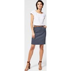 4828110f80 Spódnica bez wzorów wiosenna mini