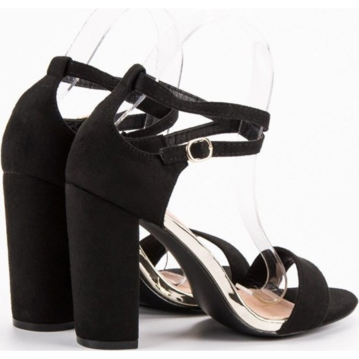 229c8c5b807ea ... Vinceza sandały damskie gładkie na wysokim obcasie na wiosnę na z klamrą  eleganckie ...