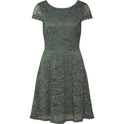 aecbc9d3de6b Sukienka Vero Moda z okrągłym dekoltem z krótkim rękawem elegancka