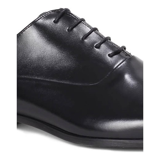 Buty eleganckie męskie Brilu sznurowane z tworzywa