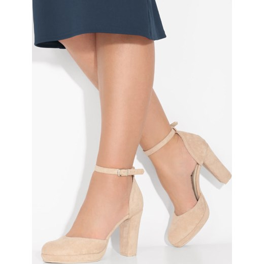 buty z czubkiem damskie z.klamra