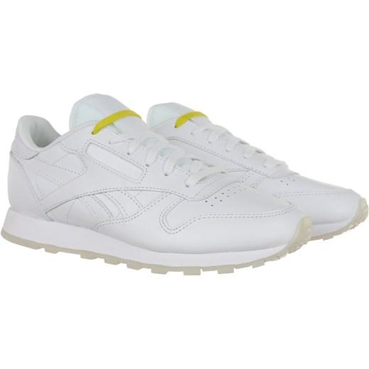 Reebok – Białe buty sportowe na grubej podeszwie