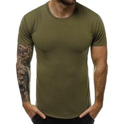 cc645cb007 T-shirt męski Ozonee zielony z krótkim rękawem
