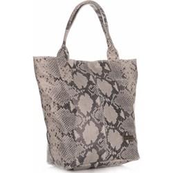 b05abd4e80d8 Shopper bag Vittoria Gotti mieszcząca a5 skórzana