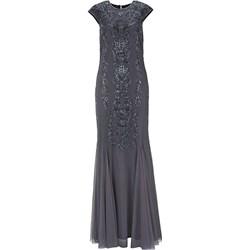 4295e65ca2 Sukienka Heine z tiulu z okrągłym dekoltem na sylwestra