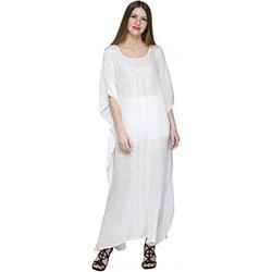 bcd2901549 Sukienka Skavij na plażę z okrągłym dekoltem
