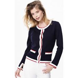 d89d63d58e7a Granatowe swetry damskie