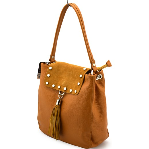 a3e77179 Shopper bag Vera Pelle - torebki-skorzane.pl