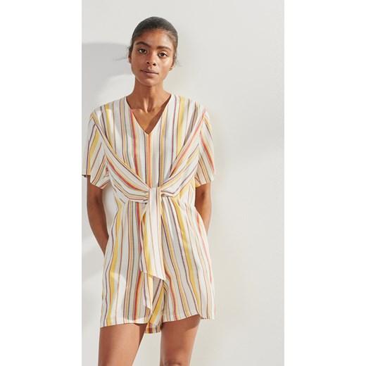 e5fcc39007 Sukienka Reserved trapezowa mini casual w paski w Domodi