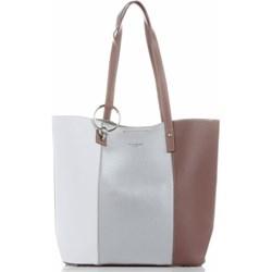 9e05dae53e677 Shopper bag David Jones duża wakacyjna