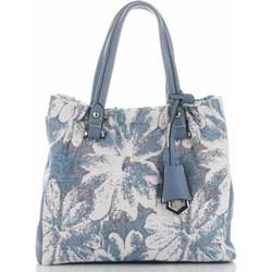 b23db45ee8200 Shopper bag David Jones ze skóry ekologicznej