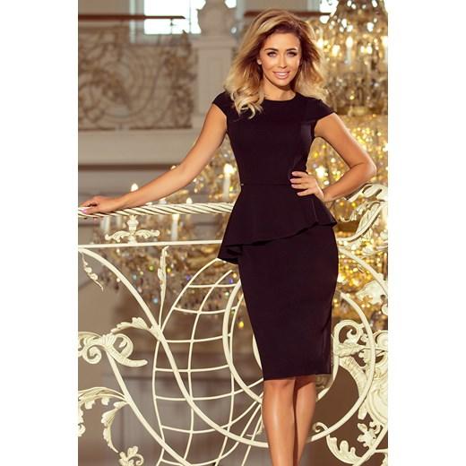 23896df5fa Sukienka Numoco na spotkanie biznesowe elegancka czerwona w Domodi