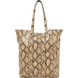 43bebf0f67745 Shopper bag Vero Moda skórzana