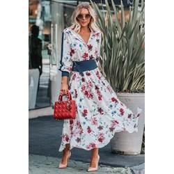 8f6a6098c7 Sukienka Ivet.pl wiosenna casual z długimi rękawami
