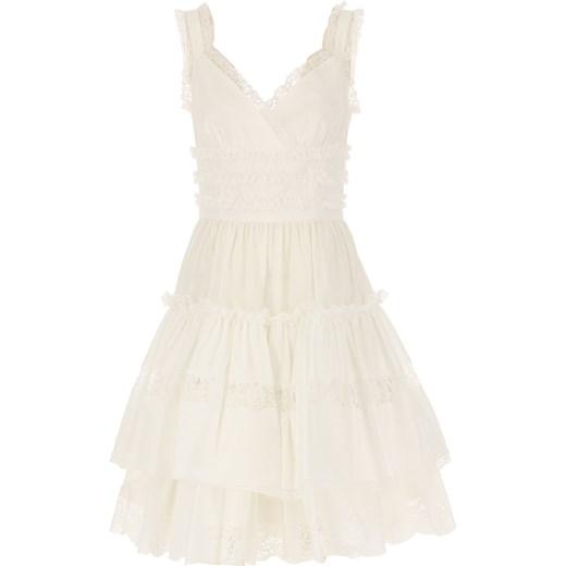 6cb2ee044a Biała sukienka Dolce   Gabbana na sylwestra w Domodi