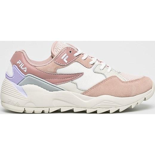 Buty sportowe damskie Fila do biegania sznurowane skÓrzane