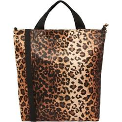afa37c69285c9 Shopper bag brązowa Vero Moda