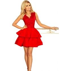 caadf08a11 Sukienka Numoco mini balowe na studniówkę wiosenna bez rękawów