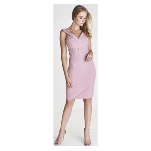 d54cdbbd9f Sukienka Mally na jesień midi dopasowana ...