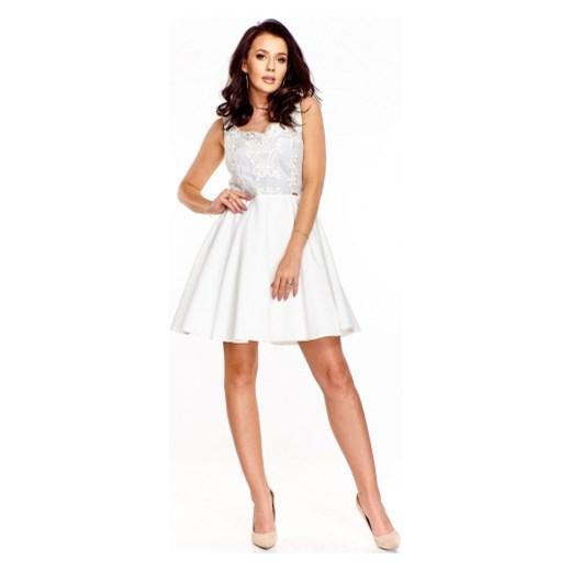 b2ea8bd5e5 Wieczorowa sukienka z wyszywaną górą Quarelle M ptakmoda.com ...