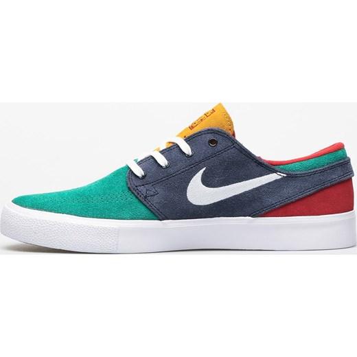 Buty sportowe męskie Nike sb sznurowane zamszowe na wiosnę
