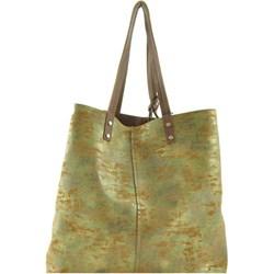 124f0a0c48e03 Shopper bag Verso ze skóry elegancka na ramię