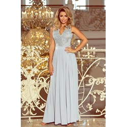 c315b23edf Sukienka Numoco maxi koronkowa balowe